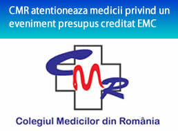 CMR atentioneaza medicii privind un eveniment presupus creditat EMC