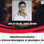 Webinar medical | Hepatotoxicitatea: elemente clinico-biologice si abordare terapeutica