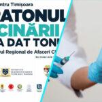 A doua etapa a Maratonului Vaccinarii de la Timisoara | Se va face si un screening al starii de sanatate