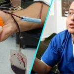 Un medic propune introducerea unui program national de promovare a donarii de sange